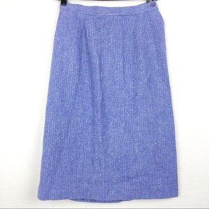 Pendleton 40's 50's Vintage Virgin Wool Skirt Suit